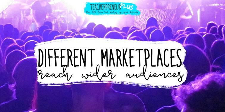 Different teacherpreneur marketplaces reach wider audiences
